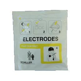 Electrodes enfants pour défibrillateur Schiller Easyport (la paire)