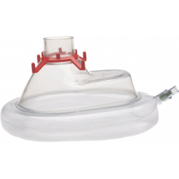 Masques faciaux Ambu à usage unique avec bourrelet gonflable (plusieurs tailles, par 20)
