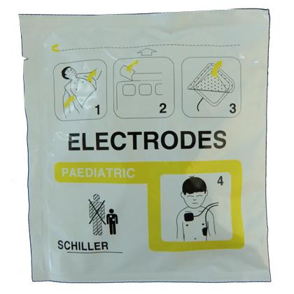 Electrodes enfants pour défibrillateur Fred Easy (la paire)