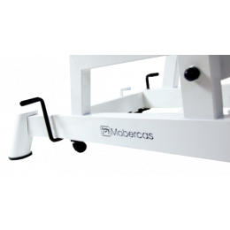 Roulettes escamotables pour fauteuil d'examen Mobercas