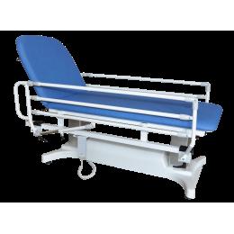 Paire de barrières rabattables pour divan d'examen Vog Médical