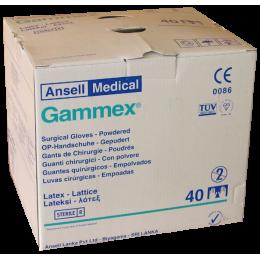 Gants de chirurgie Gammex latex non poudrés stériles (boite de 50 paires)