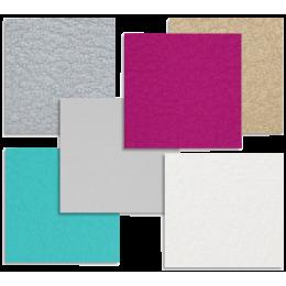 Coloris de sellerie spéciaux en supplément pour mobilier Mobercas