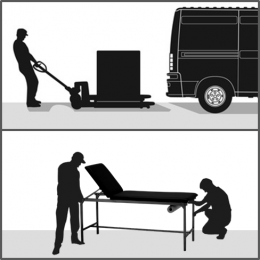 Prestation installation S pour mobilier de moins de 100Kg