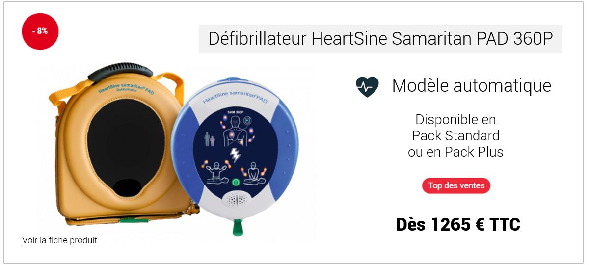 Défibrillateur HeartSine Samaritan PAD 360P